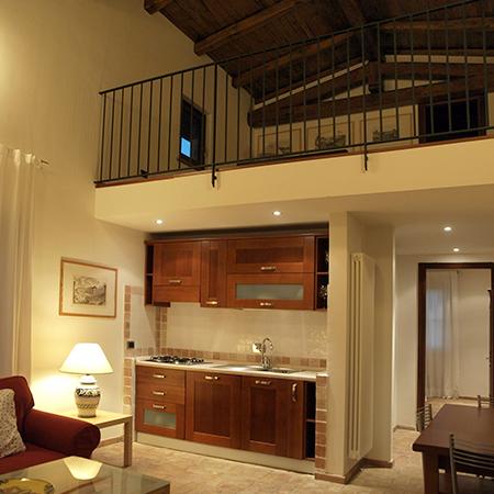 apartments in villa